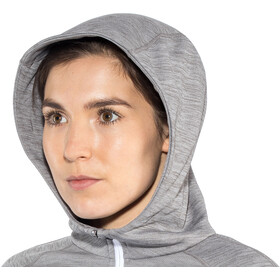 Schöffel Trentino Hoodie de forro polar Mujer, silver filigree